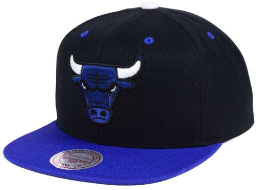 Bulls Snapbacks White
