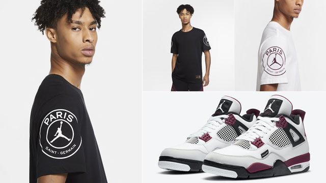 air jordan 4 psg logo shirt gov