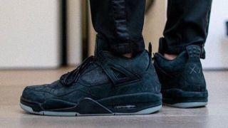 【11/27 サイバーマンデー】カウズ x ナイキ エアジョーダン4 ブラック  / KAWS x Nike Air Jordan 4 Black