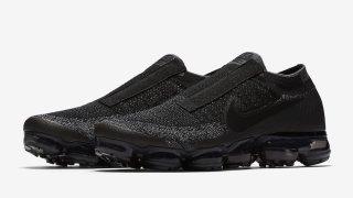 """10/19 ナイキ エア ヴェイパーマックス レースレス / Nike Air VaporMax Laceless """"Black Night"""" AQ0581-001"""