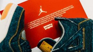 【1/20】リーバイス x エアジョーダン4 / LEVI'S × Air Jordan 4 Retro
