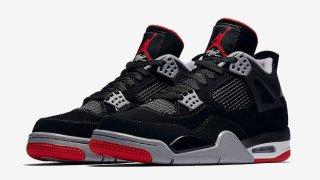"""【5/4】エアジョーダン4 OG """"ブレッド"""" / Air Jordan 4 """"Black Cement"""" 308497-060"""