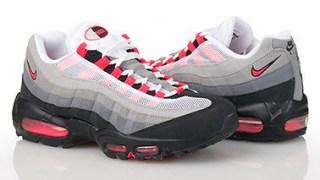 """【3/1】ナイキ エアマックス95 """"ソーラーレッドグラデ"""" / Nike Air Max 95 """"Solar Red"""" 609048-106"""
