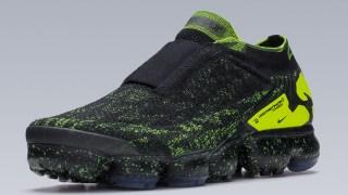 【4/26】アクロニウム x ナイキ エアヴェイパーマックス モック2 ブラックボルト/ Acronym x Nike Air VaporMax Moc 2 AQ0996-007