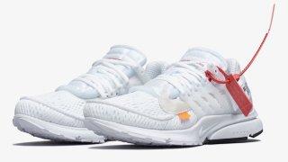 """【8/3】オフホワイト x ナイキ エアプレスト パート2 """"ホワイト"""" / OFF-WHITE x Nike Air Presto Part2 White AA3830-100"""