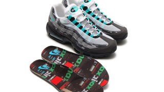 "【4/28】アトモス x エアマックス95 / atmos x Nike Air Max 95 ""We Love Nike"" AQ0925-001"