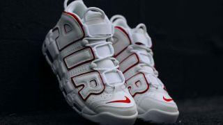 【5/19】ナイキ モアテン ホワイトレッド / Nike Air More Uptempo 921948-102