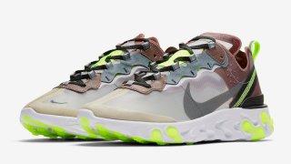 【8/14】ナイキ リアクトエレメント87 新カラーリリースへ / Nike React Element 87 AQ1090-002, AQ1090-003
