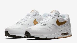 【9/1】ナイキ エアマックス90/1 メタリックゴールド / Nike Air Max 90/1 Metallic Gold AJ7695-102