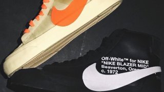 "【9/27】オフホワイト x ナイキ ブレザーミッド / Off-White x Nike Blazer Mid""All Hallows Eve"" and ""Grim Reapers"" AA3832-001, AA3832-700"