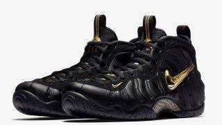 【11/17】ナイキ エアフォームポジットプロ ブラックゴールド / Nike Air Foamposite Pro 624041-009