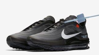 【US 10/18】オフホワイト x ナイキ エアマックス97 ブラック / Off-White x Nike Air Max 97 AJ4585-001