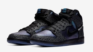 "【2/22, 2/24】ブラックシープ x ナイキSB ダンクハイ / Black Sheep x Nike SB Dunk High ""Black Hornet"" BQ6827-001"