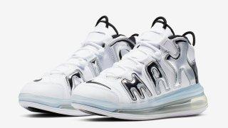 """【近日リリース】ナイキ エアモアアップテンポ720 ホワイトクローム / Nike Air More Uptempo 720 """"White Chrome"""" BQ7668-100"""