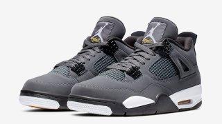 """【8/3】エアジョーダン4 クールグレー復刻 / Air Jordan 4 """"Cool Grey"""" 308497-007"""