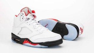 """【3/28】エアジョーダン5 ファイアーレッド / Air Jordan 5 """"Fire Red"""" DA1911-102"""