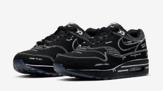 """【7/13】ナイキ エアマックス1 ティンカー スケッチ ブラック / Nike Air Max 1 Tinker """"SKETCH TO SHELF"""" CJ4286-001"""
