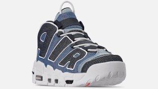 """【8/10】モアテンにデニム素材を使用したモデルがリリース予定 / Nike Air More Uptempo """"Denim"""" CJ6125-100"""