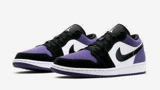 """【2019夏】エアジョーダン1 Low コートパープル / Air Jordan 1 Low """"Court Purple"""" 553558-125"""
