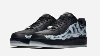 """【10/25】スケルトンのブラックバージョン / Nike Air Force 1 Low """"Black Skeleton"""" BQ7541-001"""