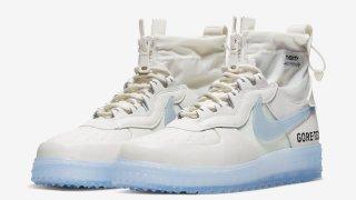 """【11/1 これは買い】ナイキ エアフォース1 ゴアテックス / Nike Air Force 1 WTR Gore-Tex """"Phantom White"""" CQ7211-002"""