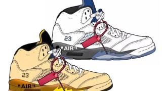 【噂】オフホワイト x エアジョーダン5 / Off-White x Air Jordan 5