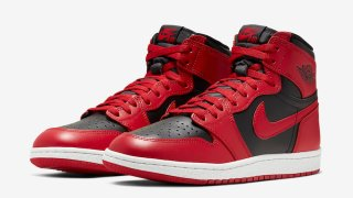 "【2/8】エアジョーダン1 ハイ85 / Air Jordan 1 Hi 85 ""Varsity Red"" BQ4422-600"