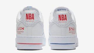 """【限定】ナイキ エアフォース1 ロー NBAパリ / Nike Air Force 1 Low """"NBA Paris"""" CW2367-100"""