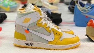"""【遂にリリース!?】オフホワイト x エアジョーダン1 カナリアイエロー / Off-White x Air Jordan 1 """"Canary Yellow"""""""