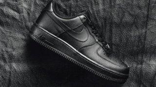 【意外とレア】ナイキ エアフォース1 トリプルブラック / Nike Air Force 1 '07 Triple Black 315122-001