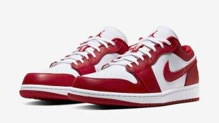"""【ジョーダン85】エアジョーダン1 ジムレッド / Air Jordan 1 Low """"Gym Red"""" 553558-611"""