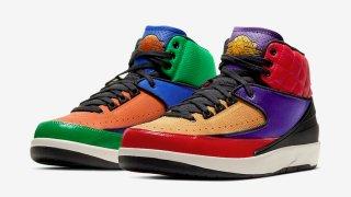 """【3/5】エアジョーダン2 マルチカラー / Air Jordan 2 WMNS """"Multicolor"""" CT6244-600"""