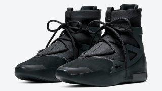 """【4/25】ナイキ エアフィアオブゴッド1 トリプルブラック / Nike Air Fear of God 1 """"Triple Black"""" AR4237-005"""