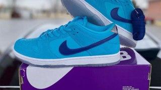 """【2020年4月】ナイキSB ダンクロー ブルーフューリー / Nike SB Dunk Low """"Blue Fury"""" BQ6817-400"""