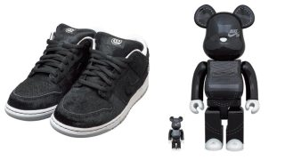 """【8/22, 8/25】メディコムトイ x ナイキSB ダンクロー ベアブリック / Medicom Toy x Nike SB Dunk Low """"BE@RBRICK"""""""