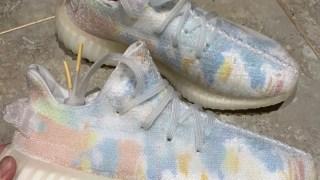 """【披露】イージーブースト350V2 トランスルーセント / adidas Yeezy Boost 350 V2 """"Translucent"""" Sample"""