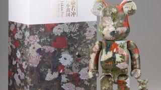 【7/1 14:00】BE@RBRICK 伊藤若冲「牡丹小禽図(ぼたんしょうきんず)」 100% & 400%