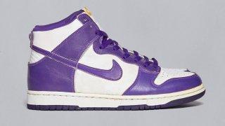 """【12/3】ナイキ ダンクハイ バーシティーパープル / Nike Dunk High WMNS """"Varsity Purple""""DC5382-100"""