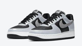 """【1/28】ナイキ エアフォース 1 B 黒蛇 / Nike Air Force 1 B """"3M Snake"""" DJ6033-001"""