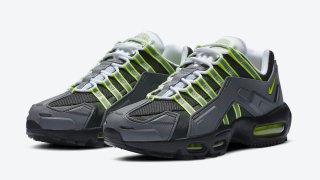 """【12/7】ナイキ エア マックス 95 NDSTRKT ネオン / Nike NDSTRKT AM95 """"Neon"""" CZ3591-002"""