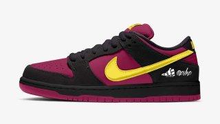 """【リーク】ナイキSB ダンク ロー レッドプラム / Nike SB Dunk Low """"Red Plum"""" BQ6817-501"""