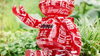 【6/26】BE@RBRICK atmos x Coca-Cola 1000% CLEAR RED