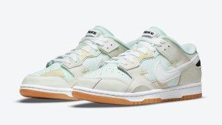 """【8/26】ナイキ ダンク ロー スクラップ """"シーグラス"""" / Nike Dunk Low Scrap """"Sea Glass"""" DB0500-100"""