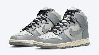 """【近日発売】ナイキ ダンク ハイ """"グレー"""" / WMNS Nike Dunk High """"Grey"""" DD1869-001"""