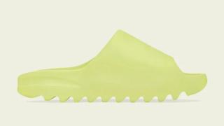 """【9/6】アディダス イージースライド """"グロウグリーン"""" """"ソート"""" / adidas Yeezy Slide """"Glow Green"""" """"Soot"""" GX6138, GX6141"""