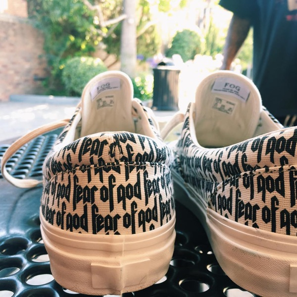 Fear of God(FOG collection two) x VANS