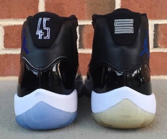 "NIKE AIR JORDAN 11 RETRO ""SPACE JAM"" 2016 VS 2009"