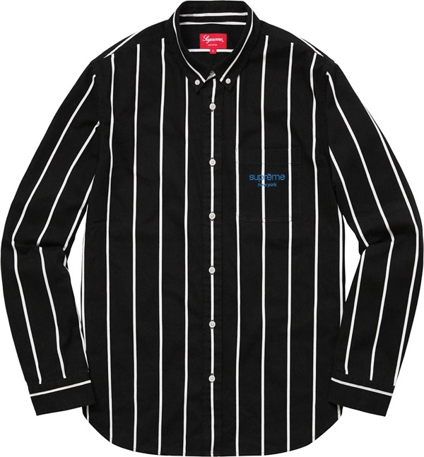 Printed Stripe Shirt