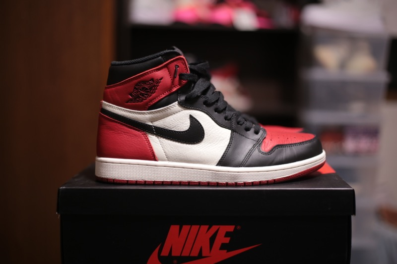 cf6dd0ef405666 レビュー NIKE AIR JORDAN 1 ALTERNATE BLACK RED