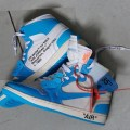 "6月23日発売予定 VIRGIL ABLOH OFF-WHITE x NIKE AIR JORDAN 1 THE10 ""POWDER BLUE"" ""UNC"""